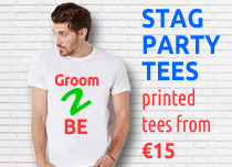 stag party t shirts